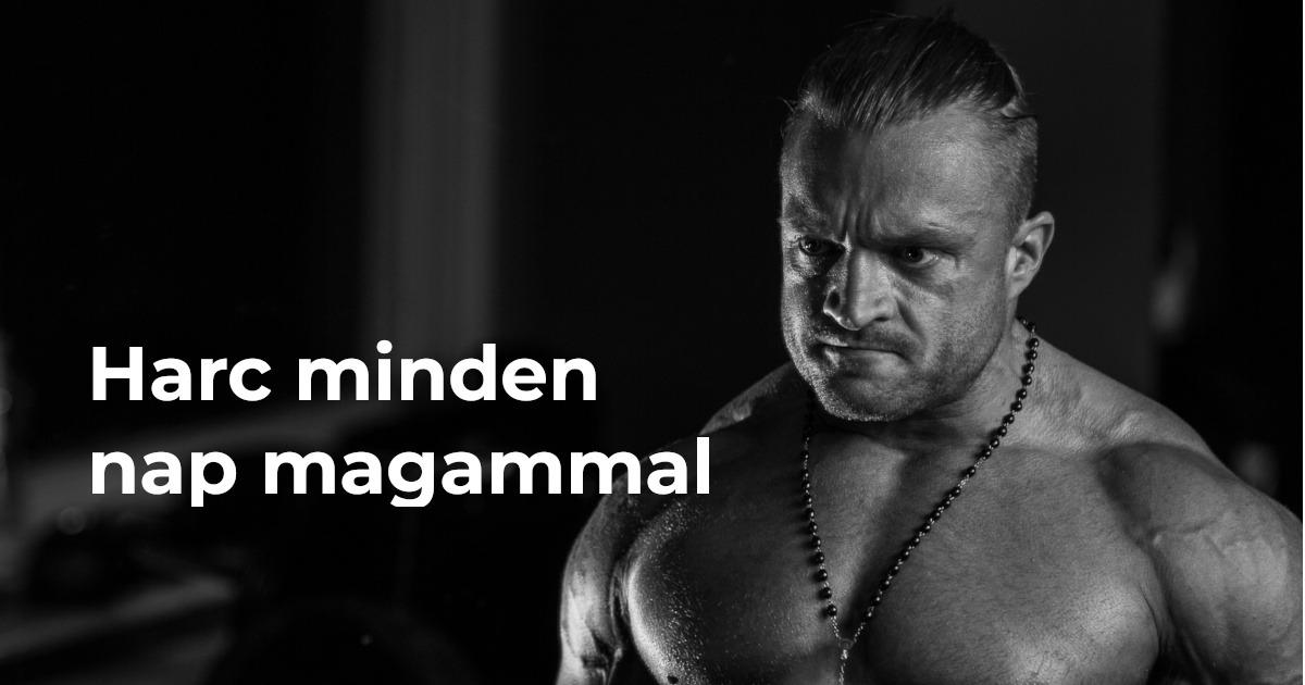 Danybuilding Blog Harcban Magammal
